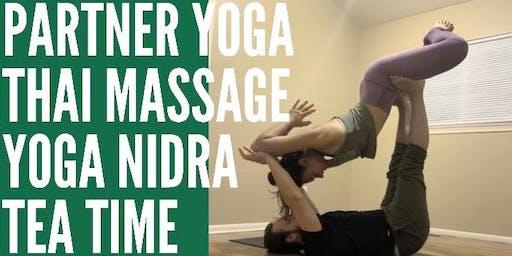 Chill Out: Partner Yoga - Thai Massage - Yoga Nidra - Tea Time