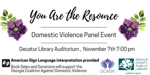 Author and  Artist Panel: You are the Resource