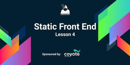 Static frontend Course(Free): Lesson 4