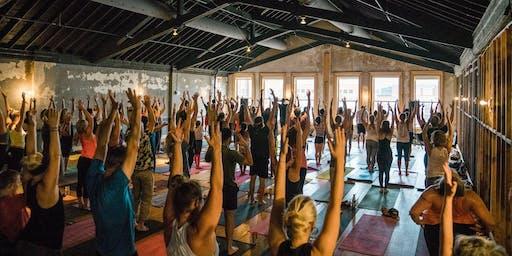 Michael Franti's  Soulrocker Fam Yoga Jam - Des Moines