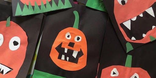 Preschool Pumpkin Painting Pop-up Party!