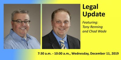 December Chapter Meeting: Legal Update