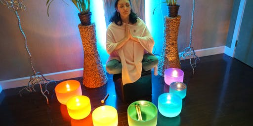 Healing Sound Bath - Magical Communication & Inner Truth - Throat Chakra
