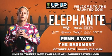 Monster Energy Up&Up presents ELEPHANTE at Penn State tickets
