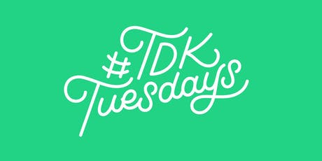 #TDKtuesdays Auckland  November – Learn Lettering tickets
