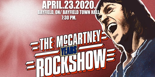 The McCartney Years live in Bayfield, ON