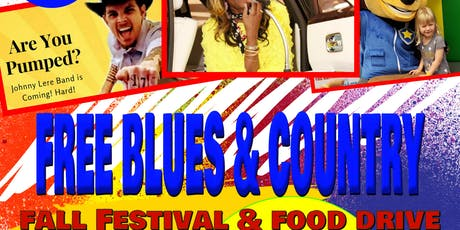 FREE Blues/Country Fall Festival & Food Drive tickets