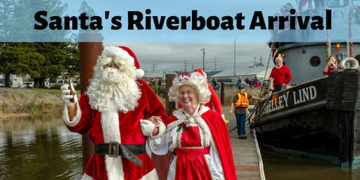 Santa's River Boat Arrival and Small Business Saturday