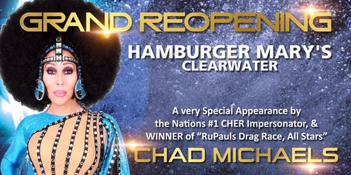 Chad Michaels at Hamburger Mary's Clearwater