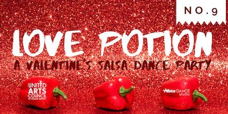 Love Potion No. 9: A Valentine's Salsa Dance Party! tickets