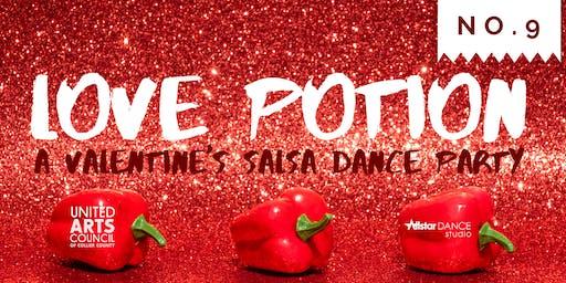 Love Potion No. 9: A Valentine's Salsa Dance Party!