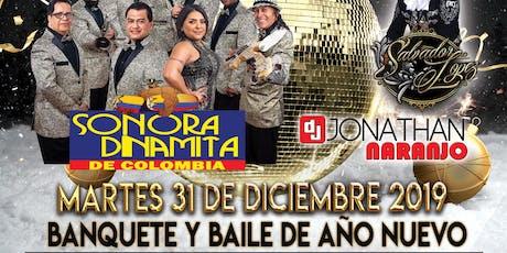 Banquete y Baile de Año Nuevo tickets