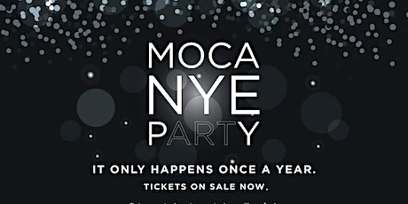 MOCA New Year's Eve pARTy tickets