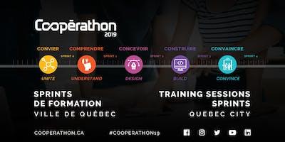 Sprints de formation/ Training sessions Cooperathon 2019 -Quebec