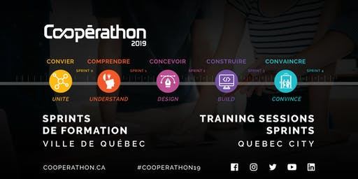 Sprints de formation/ Training sessions Cooperathon 2019 -Quebec