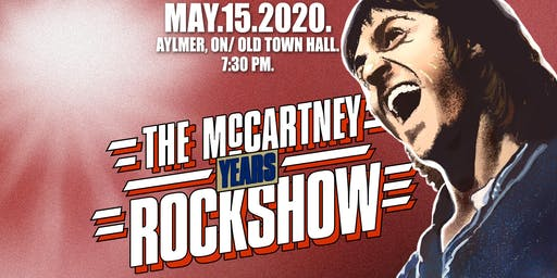 The McCartney Years live in Aylmer, ON