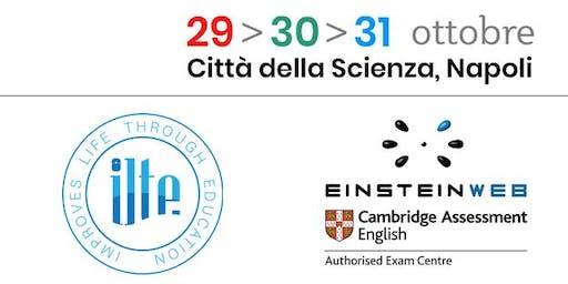 3 giorni per la Scuola - ILTE Centre e le Certificazioni CAMBRIDGE ENGLISH