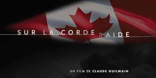 "La première de ""Sur la corde raide"", un film de Claude Guilmain"