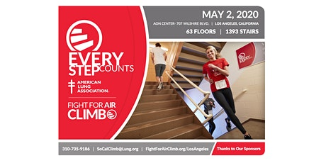 Fight For Air Climb - Los Angeles 2020 tickets