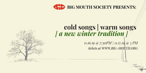 Cold Songs | Warm Songs: A New Winter Tradition