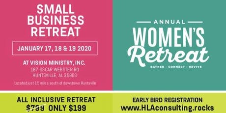 3-day Small Business Retreat tickets