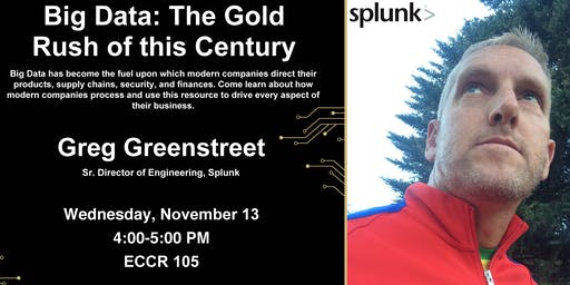 TCP Seminar: Gregory Greenstreet on Big Data: The Gold Rush of this Century