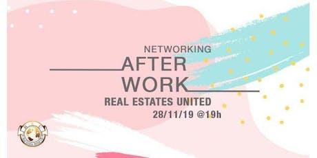 Real Estates United Afterwork Networking entradas
