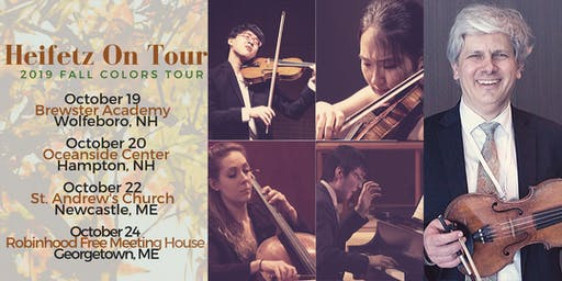 Heifetz on Tour at Oceanside Center