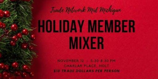 Trade Network Mid-Michigan Holiday Member Mixer