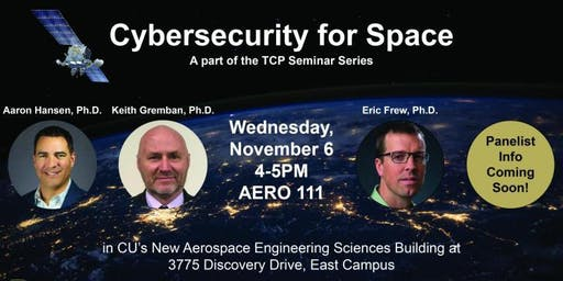 TCP Seminar: Cybersecurity for Space Panel