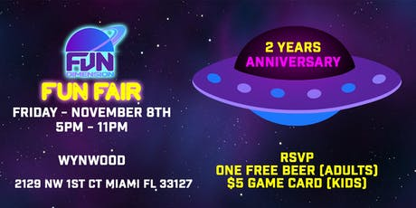 FunDimension FunFair - 2 Year Anniversary tickets