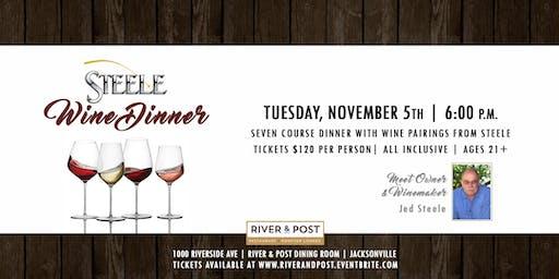 Jed Steele Wine Dinner