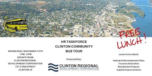 HR Taskforce Clinton Community Bus Tour