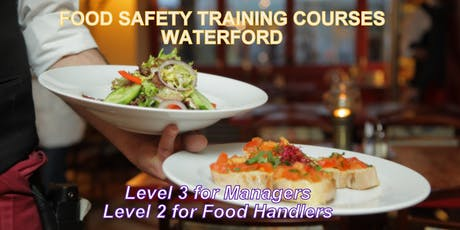Food Safety Level 2 for Food Handlers Course tickets