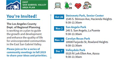 Community Visioning Workshop - Rowland Heights