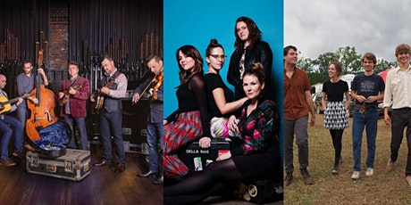 Back Porch Bluegrass with The Travelin' McCourys, Della Mae, and Hawktail tickets