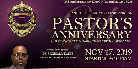 9th Annual Pastoral Anniversary tickets