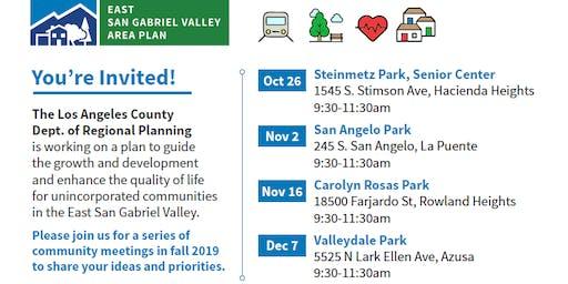 Community Visioning Workshop - Valleydale Park