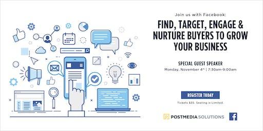 Facebook & Instagram: Find, Target, Engage and Nurture buyers to grow your business - Kamloops