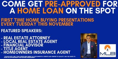 First Time Home Buyer Presentations