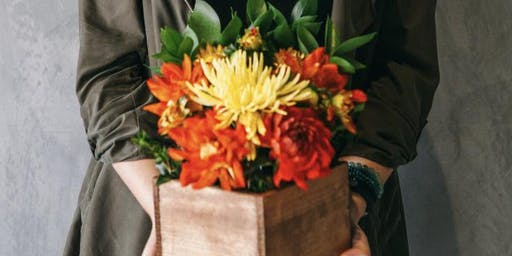 Centerpiece Floral Arrangement Workshop w/ Poppy Askew