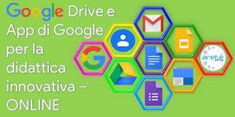 Didattica con le  Google Apps biglietti