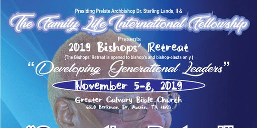 Family Life International Fellowship 2019 Bishop's Retreat