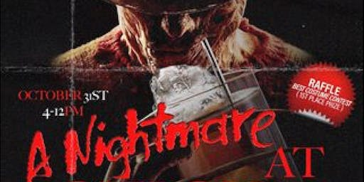 A NIGHTMARE AT CHICHA!!!! (Halloween costume party)