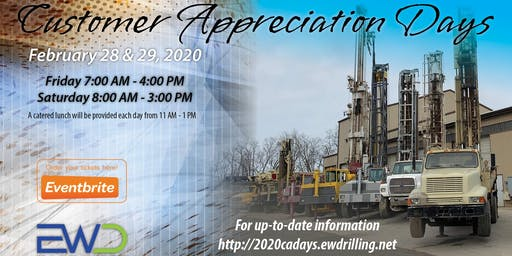 EWD Customer Appreciation Days 2020