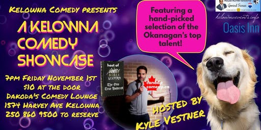 A Kelowna Comedy Showcase