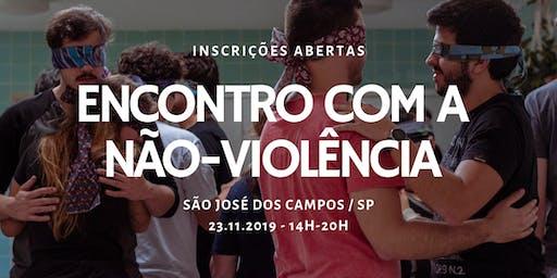 Encontro com a Não-Violência, em São José dos Campos