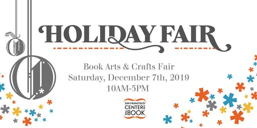 Holiday Book Arts & Crafts Fair