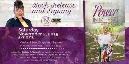 Power in My Pain Book Release and Signing