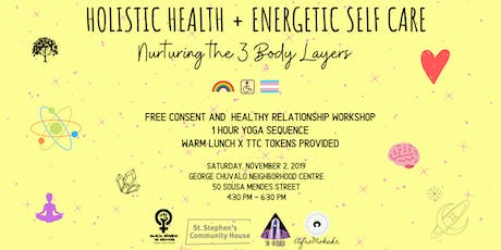 Holistic Health + Energetic Self Care tickets